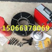 四川**GQ-150型管道清理机  中信电动马桶疏通机  下水道疏通机