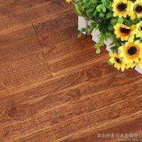 橡木仿古地板锯齿实木地板 18mm耐磨防滑实木地板防蛀木地板