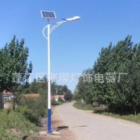 太阳能路灯  led太阳能灯  led路灯灯杆
