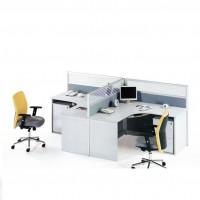 上海家具 职员办公卡座 屏风办公桌组合 4人位职员桌组合办公桌