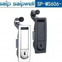 MS606-1小型按钮式柜锁 不锈钢亮面门锁 弹跳式门锁系列